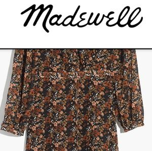 Madewell Dresses - Madewell Nighflower Maxi In Prairie Blossoms